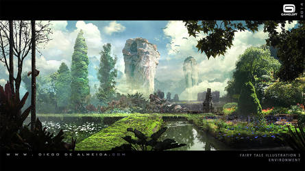 Fairy Tale Environment by Diegodealmeida