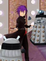Doctor Dark: Ugliest Artwork by Purplefire40