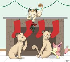 Merry Mistletoe! by Purplefire40