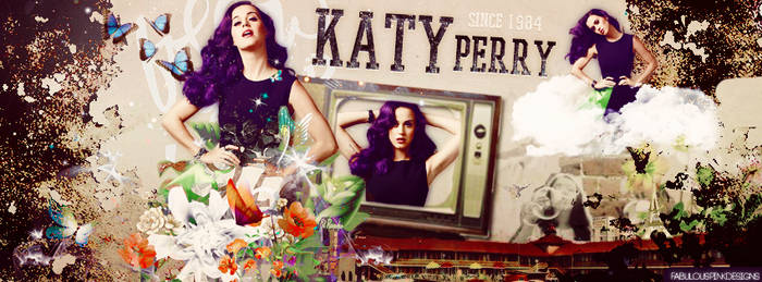 Portada Katy Perry by FabulousPinkDesignsW