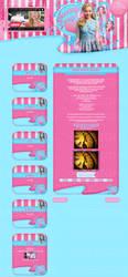 Layout Sweety Design Version 3.2 by FabulousPinkDesignsW