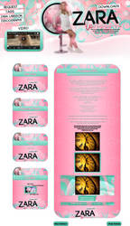 Layout Zara Larsson Downloads Version 3.2 by FabulousPinkDesignsW