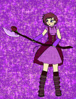 Magical Girl For a Friend 5 (Aster) by lolzmelmel