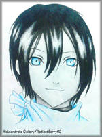 Noragami - Yato by RadiantBerry02