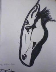 Fiddian Horse by twistedMedium