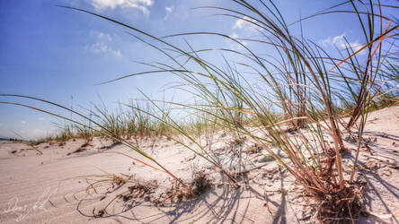 sky and sand by Ditze