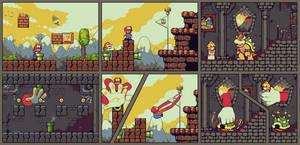 Super Mario hack by StavaEY