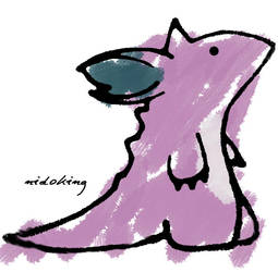 Little Nidoking by Static-Ending