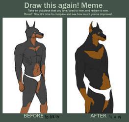 Draw this again Meme by TeddyLama