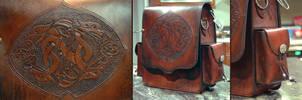 Dragon Bag 1 by Blackthornleather