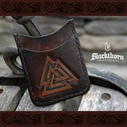 Valknut by Blackthornleather