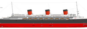 M.S Imperia Profile: Starboard. by alotef