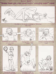 Annoying poses meme by PsychoCaptain