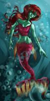 Yugioh- Enchanting Mermaid by NerdInDisguise96