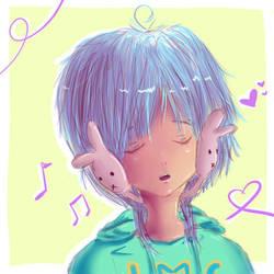 bunny song by guanzizai