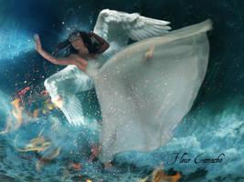 Ocean Goddess by FleurCamacho