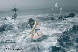 Lost at Sea by FleurCamacho
