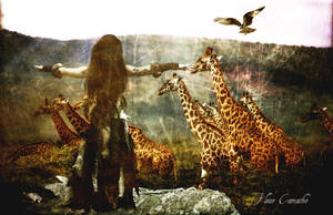 King of the Safari by FleurCamacho