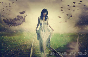 Following the path blindly by FleurCamacho