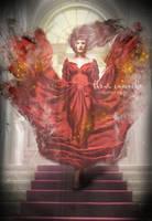Lady in Red by FleurCamacho