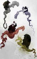 The Horsemen by Beanjamish