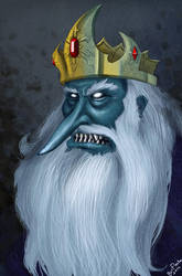 The Ice King by Beanjamish