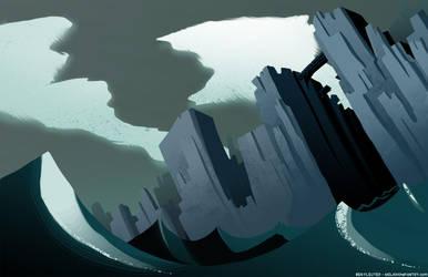 Sea Cliffs by Beanjamish