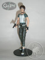 SCULPTURE REBECCA CHAMBERS RESIDENT EVIL 0. by dopellgersec