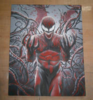 CARNAGE AIRBRUSHING. by dopellgersec