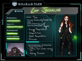 Lady Jacqueline - Reference + Bio by Agent-Hill