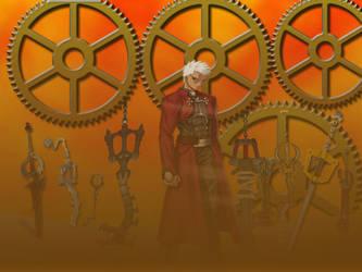 Unlimited Keyblade Works by Greiga