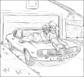 [COMMISSION] Romantic roads by Stu-Jojo