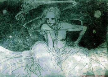 sketch:salamandra song by amleth-machina