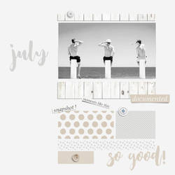 july by SylviasScrapArt