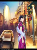 Old Shanghai by hiliuyun