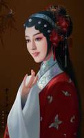 Beijing Opera 2 by hiliuyun