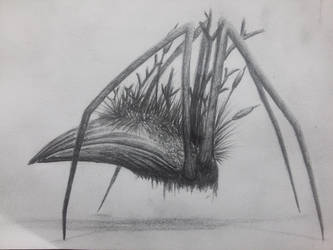 swamp creature by Lilu-Teus