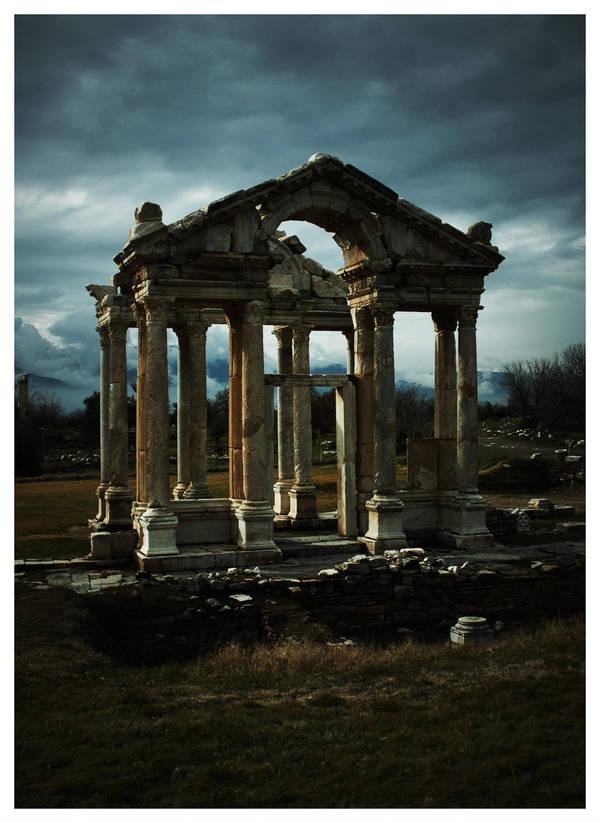 Temple of Aphrodisias by tom2strobl