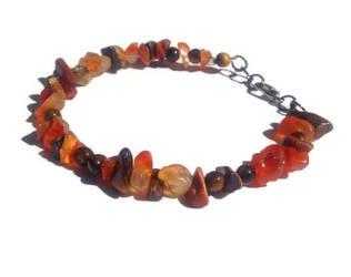 Helios Sun God Gemstone Bracelet by FaithlisCreations