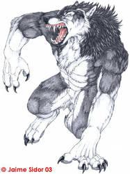 SilverFoxWolf by Emryswolf