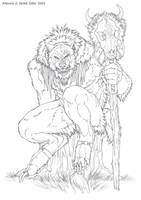 Rogue Dyre by Emryswolf