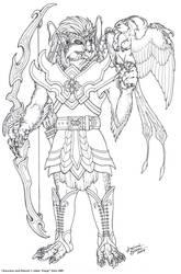 Avian-People Design by Emryswolf