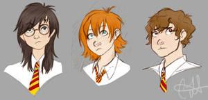 Harry Potter Gender Bend by antoinette721