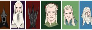 Lotr The Hobbit Coloured by DennisB-Art