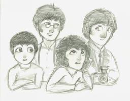 Beatles Mesh by Kumu18
