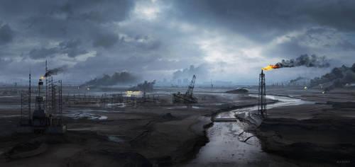Wasteland by MalteBlom