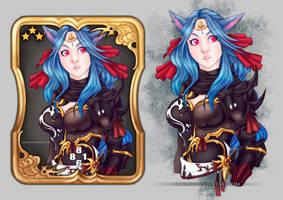 FFXIV: Triple Triad Lissenia by Chyana