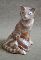 cat by shizuka10