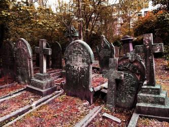 Highgate Cemetery of London 02 by PietrOtelloRomano