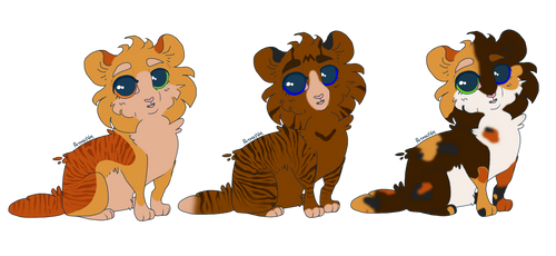 Lionstar and Splitpelt Kits by EnderDrawsEverything